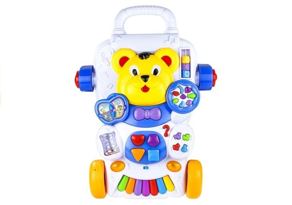 Baby Toddler Push Along Activity Educational Toy Lights Sounds