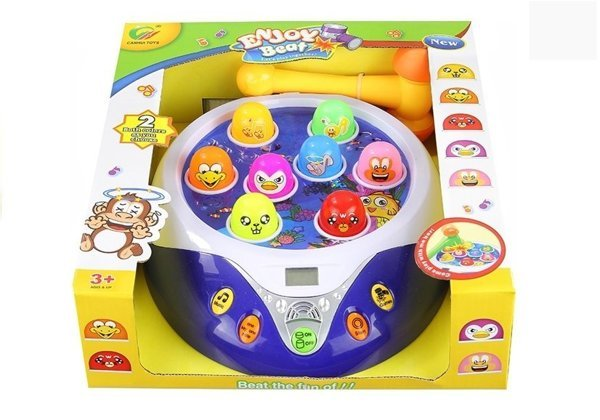 Battery Operated Enjoy Beat Hitting Game Like Whack-A-Mole With Sounds