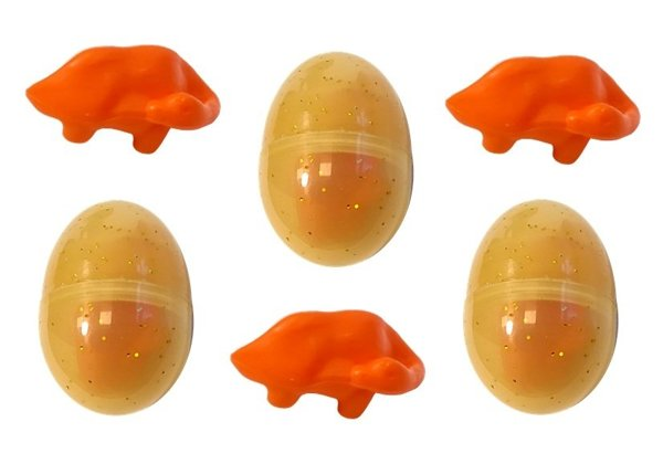 Battery-operated Dinosaur Egg Laying Brown