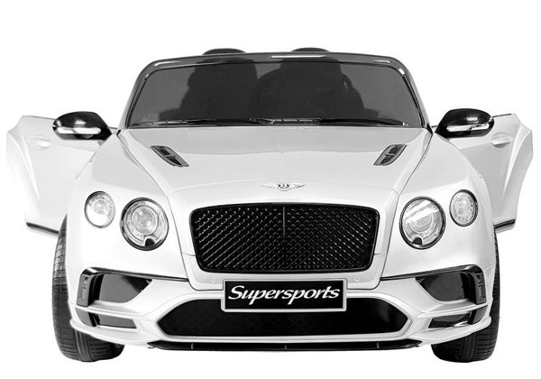 Bentley Supersports Electric Ride-On Car JE1155 White