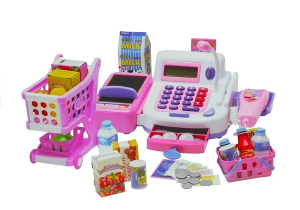 Cash Register with a Shopping Trolley - PLAY SET