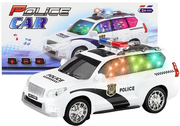 Childrens Kids Toy Police Car Lights & Sounds