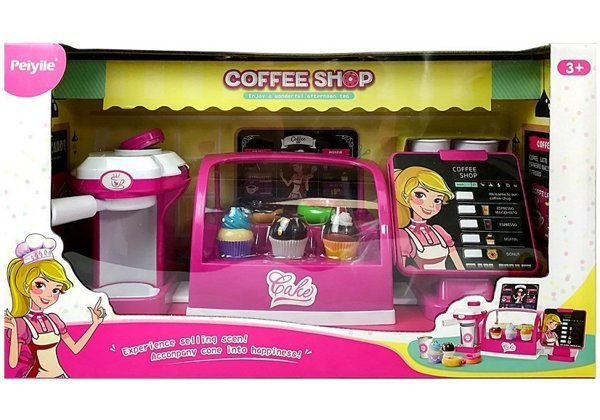 Confectionery Cafe Set with Light and Sounds