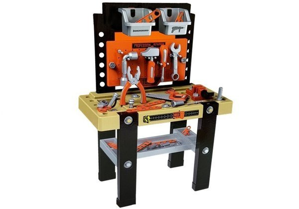 DIY Tool Set Table Vise Saw Screwdriver 64 elements