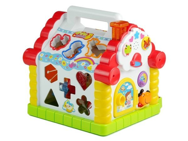 Educational Multi-function Piano House Sorter - Multi-Color