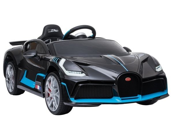 Electric Ride-On Car Bugatti Divo Black Painted