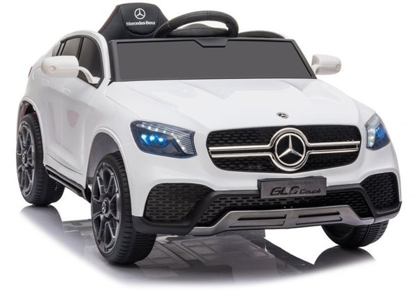 Electric Ride On Car Mercedes GLC Coupe White