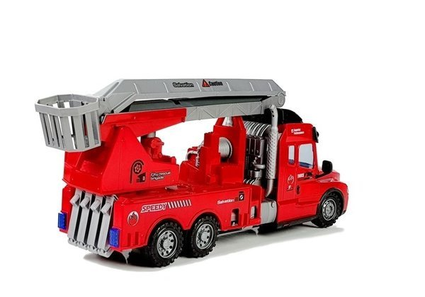 Fire Truck with Ladder R/C Remote Control