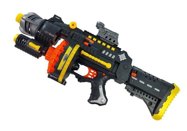 Foam Bullets Rifle with Target 40 pcs of Bullets