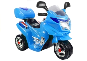 HC8051 Blue - Electric Ride On Motorcycle