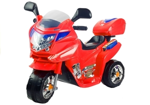 HC8051 Red - Electric Ride On Motorcycle