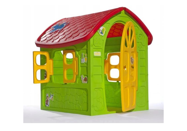 House Garden Set Large House for Children 5075 Green