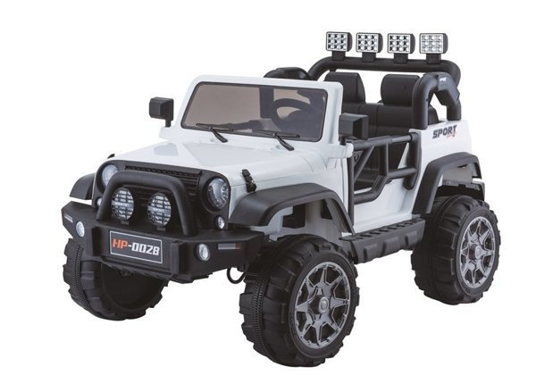 Jeep HP012 Electric Ride On Car - White