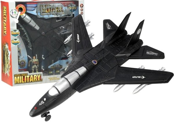 Jet Fighter Military Aircraft with Sounds & Lights