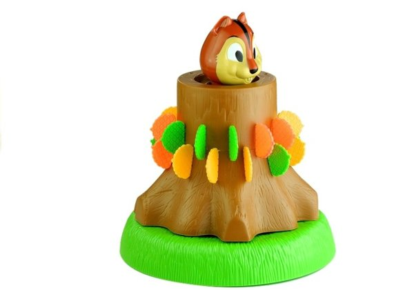 Jumpin' Squirrel Family Game Pop-out Squirrel