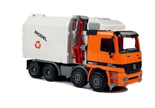 Junk Truck Dumper City Services Friction Drive