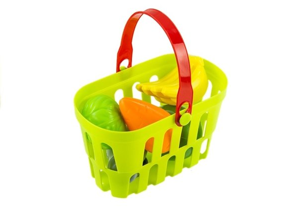 Kitchen in a Case with Shopping Basket and Accessories - Be a Housekeeper