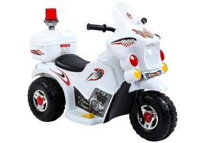 LL999 Electric Ride-On Motorbike White