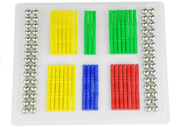 MAGNASTIX 188 PCS Creative Magnetic Blocks Manual Skills Educational Toy