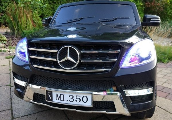 Mercedes ML350 Black - Electric Ride On Car with 2.4G RC