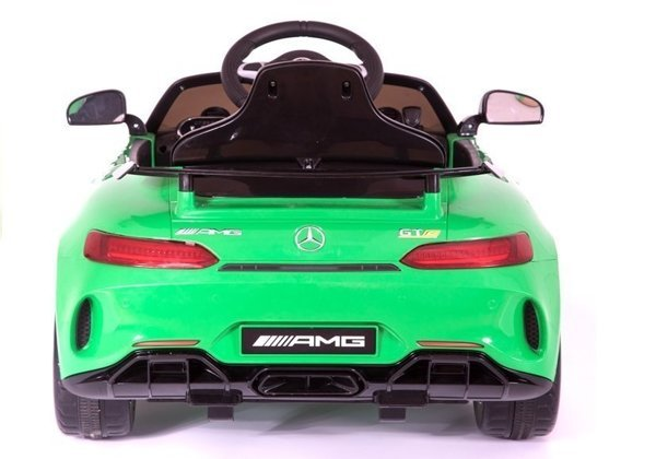 Mercedes SLS AMG GT R Green Painting - Electric Ride On Vehicle