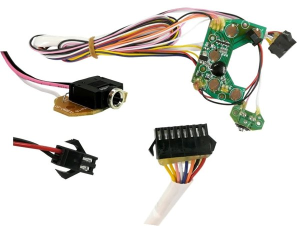 Music Panel Module with Wires for BMW Police Motorcycle