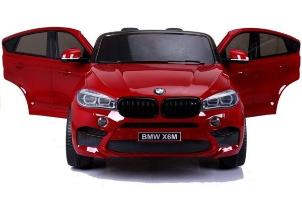 NEW BMW X6M Red Painting - Electric Ride On Vehicle