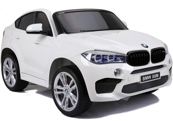 NEW BMW X6M White - Electric Ride On Vehicle