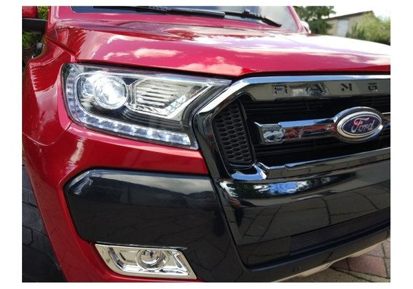 New Ford Ranger Red Painting - 4x4 Electric Ride On Car