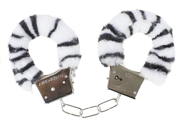 Plush Furry Handcuffs 6 Types