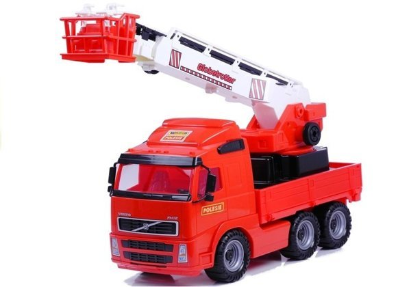 Polesie Fire Truck Car with Elevator 8787
