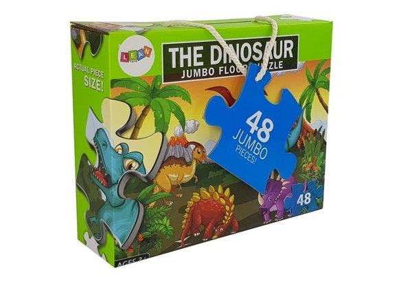 Puzzle World Dinosaurs 48 parts