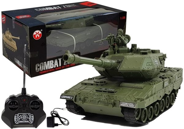 R/C Tank Remote Control with Charger Dark Green