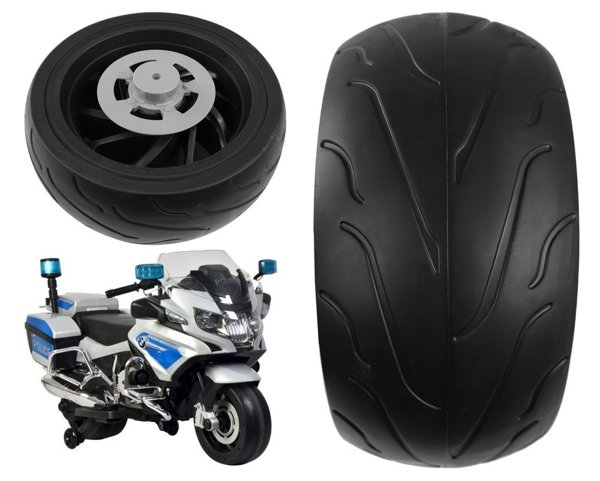 Rear wheel for Electric Motorcycle BMW R1200