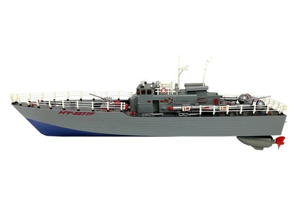 Ship Remote-Controlled Torpedo Boat R/C 1:115 2.4G Blue