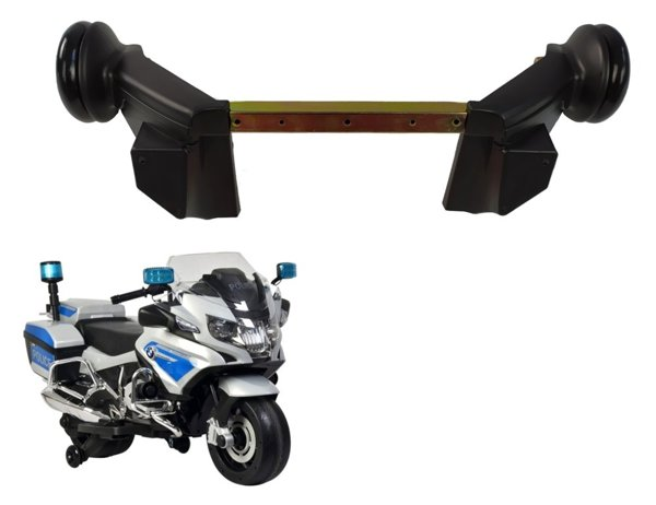 Side training wheels for motorbike BMW R1200