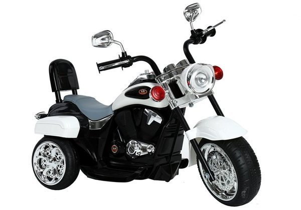 TR1501 Electric Ride-On Motorbike White