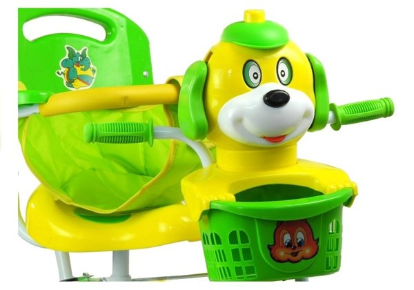 Tricycle Bike Dog - Green