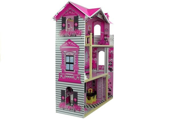 Wooden Dolls House 121 cm Villa