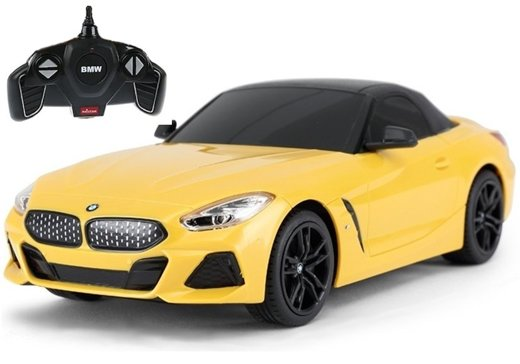 BMW Z4 Roadster R/C Car Rastar 1:18 Yellow