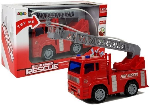 Battery Operated Fire Truck 1:20 with Water