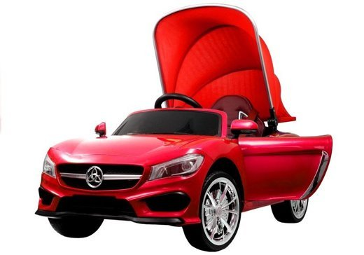 Cabrio Sports Car Red - Electric Ride On Vehicle
