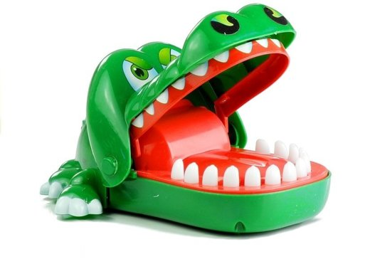 Crocodile Dentist Funny Bite Finger Game