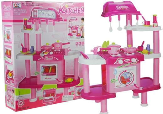 Giant Kitchen Set with Accessories - role-play game for kids