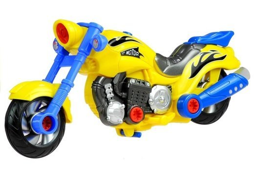 Motorcycle For Little Mechanics (20 elements)