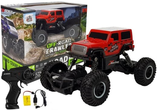 R/C Car Off-Road 1:20 2.4 GHz Red