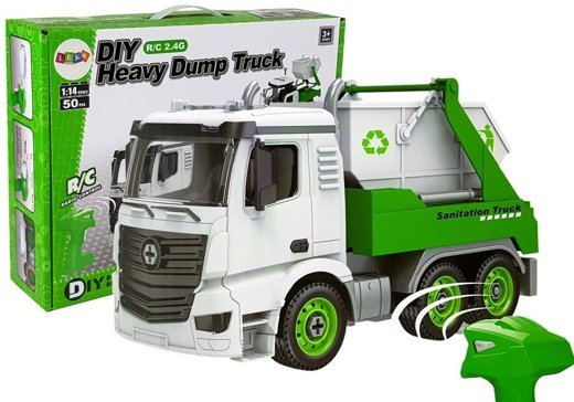Remote Controlled Tipper R/C 1:14 DIY 50 Pieces