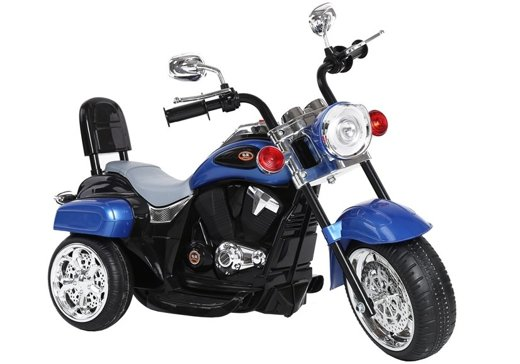 TR1501 Electric Ride-On Motorbike Blue
