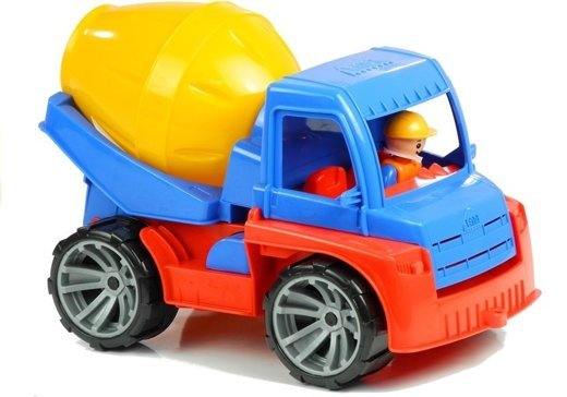 Truxx Concrete Mixer With Moving Container
