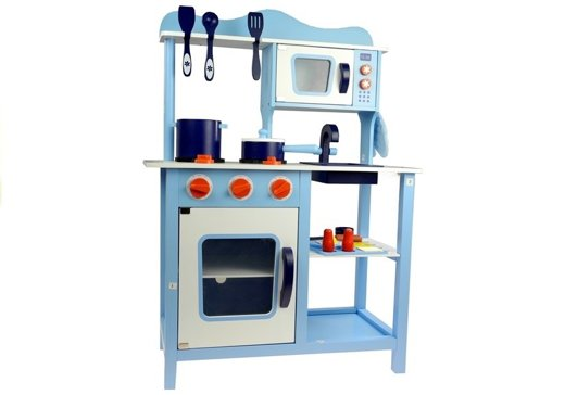"Wooden Kitchen ""Monique"" with Washer and Oven"